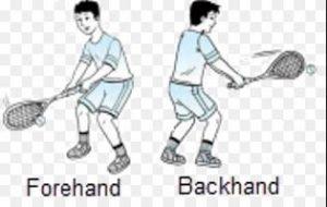 Teknik Dasar Memukul Bola Tenis Lapangan Forehand dan Backhand