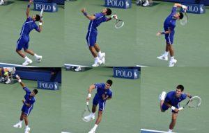 Teknik Dasar Servis Tenis Lapangan