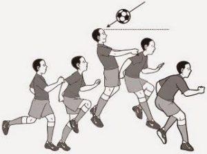 Teknik Menyundul Bola dengan Melompat