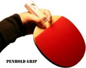 Teknik Penholder Grip