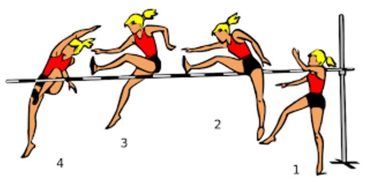 4 Gaya Lompat Tinggi dan Penjelasannya