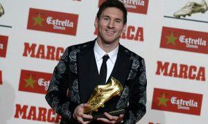 Lionel Messi Sepatu Emas Eropa