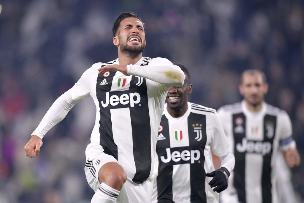 Emre Can menggandakan keunggulan Juventus