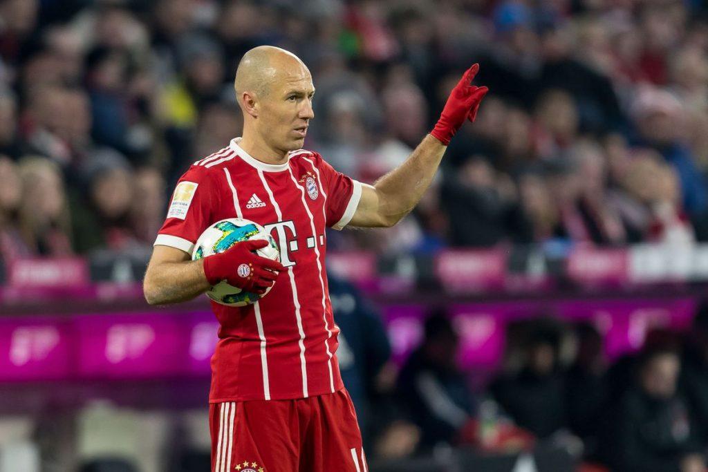 Arjen Robben bersama Bayern Muenchen