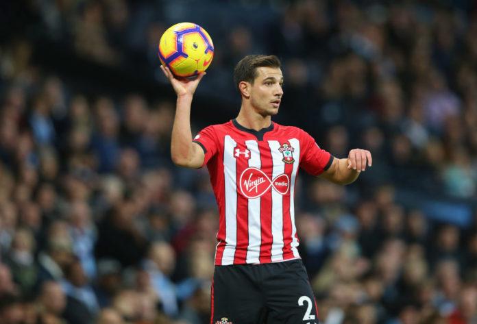 Cedric Soares saat membela Southampton di Liga Inggris