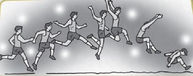 4 Teknik Lompat Jauh Gaya Berjalan Di Udara Olahragapedia Com