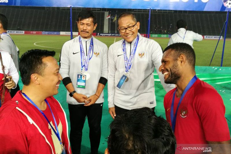 Indra Sjafri menjadi salah satu sosok penting dibalik suksesnya Indonesia juarai Piala AFF U-22 2019