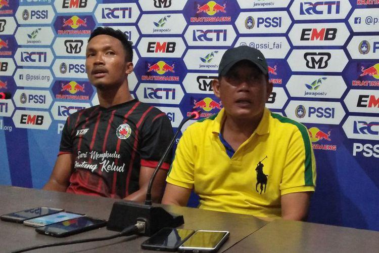Mochamad Yasin puas dengan penampilan anak asuhannya (Kompas Bola)