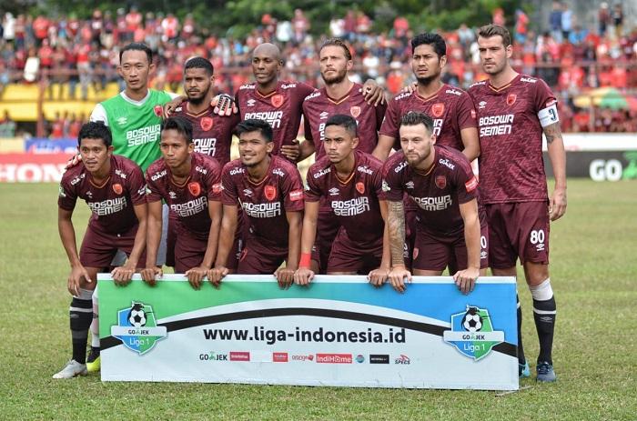 Skuad PSM Makassar di Liga 1 musim lalu