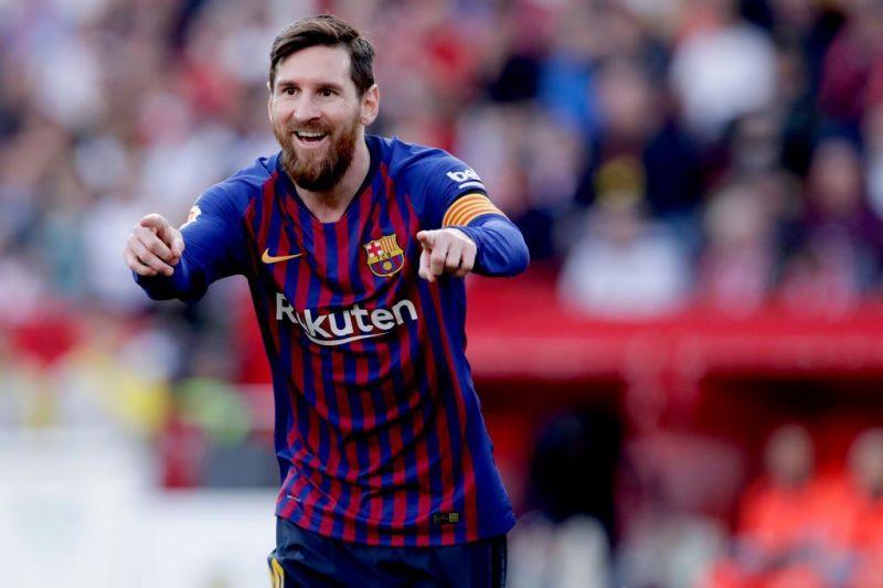 Lionel Messi di laga melawan Sevilla