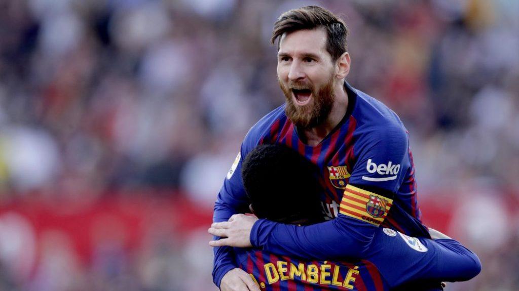 Lionel Messi yakin Barcelona mampu raih treble winner musim ini