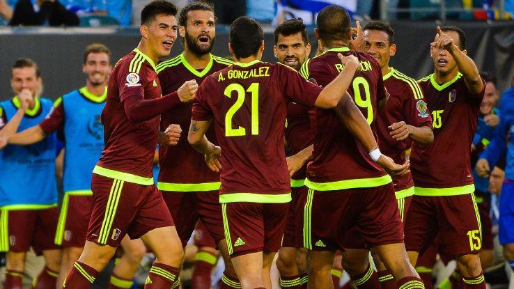 Kendati negaranya sedang diguncang isu ekonomi namun Timnas Sepakbola Venezuela mampu tampilkan grafik meningkat