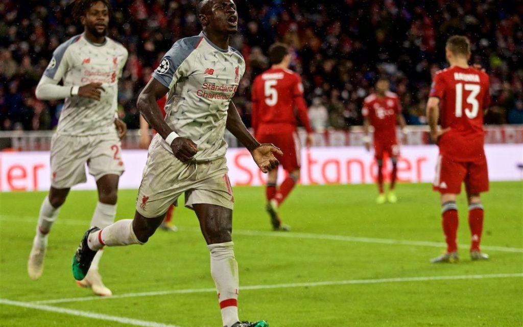 Sadio Mane aktor utama Liverpool saat kalahkan Bayern Munchen
