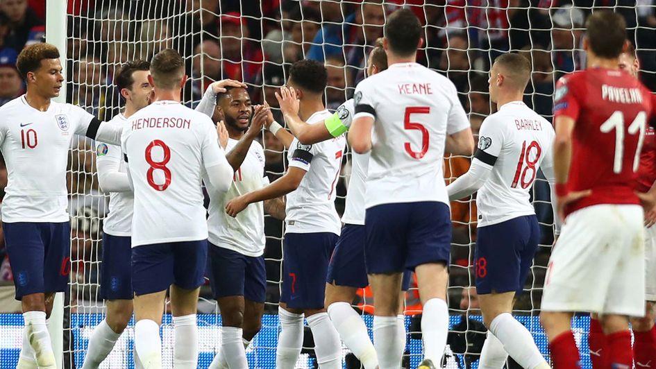 Turunkan sejumlah pemain muda Inggris masih terlalu tangguh untuk Ceko