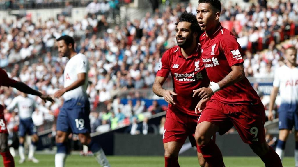 Roberto Firmino sumbang 1 gol saat Liverpool taklukan Tottenham 2-1