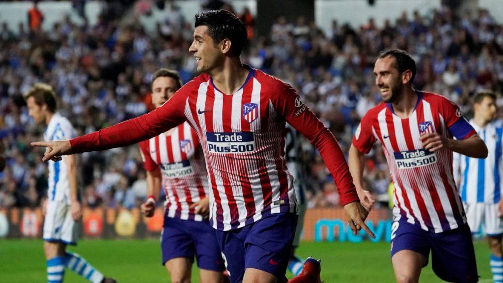 Alvaro Morata cetak brace untuk bawa Atletico kalahkan Real Sociedad
