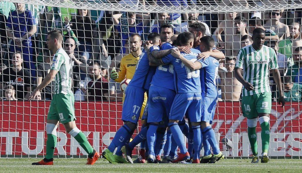 Taklukan Real Betis, Getafe naik ke peringkat 4 klasemen