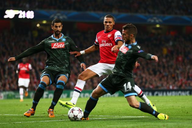 Big Match perempatfinal Europa League pertemukan Arsenal dengan Napoli