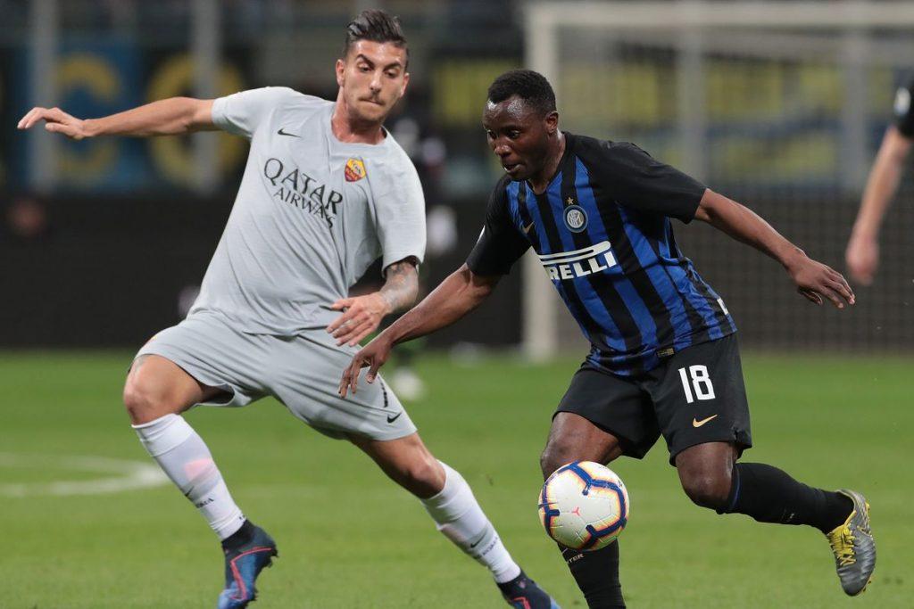 Laga sengit Inter Milan vs AS Roma berakhir imbang 1-1