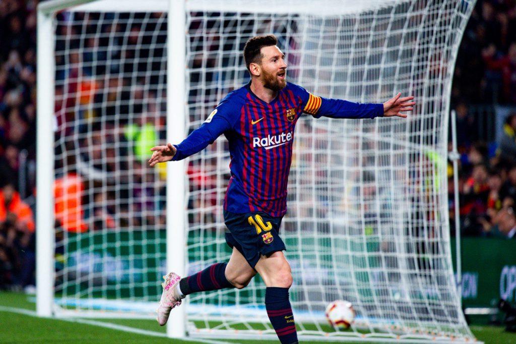 Lionel Messi jadi penentu kemenangan Barca atas Levante