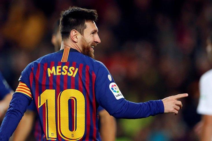 Lionel Messi akan jadi bagian rotasi di laga melawan Huesca