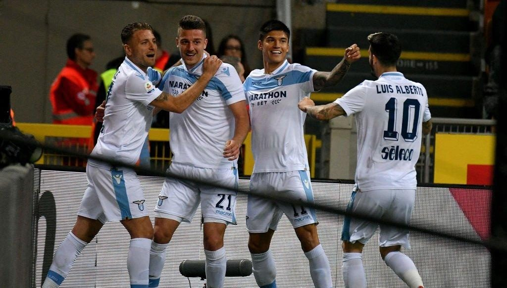 Milinkovic-Savic sukses bawa Lazio unggul di menit ke-12