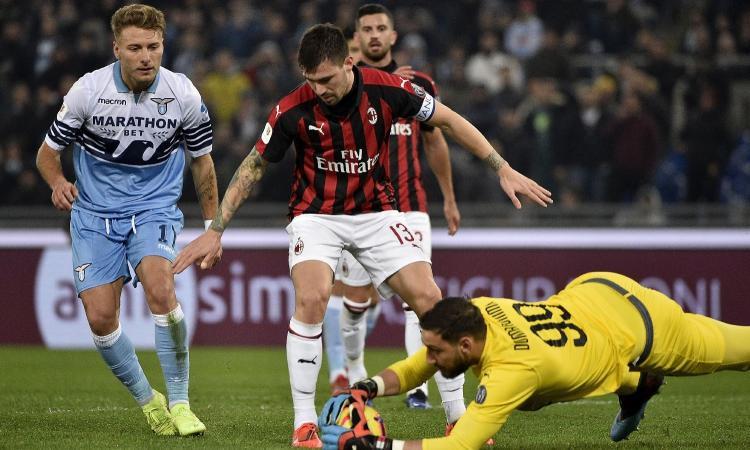 Berimbang, AC Milan vs Lazio dipastikan akan berjalan menarik