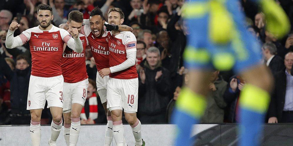 Meski kesulitan, Arsenal sukses taklukan Napoli