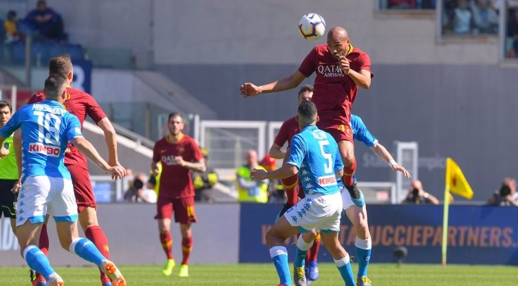Kekalahan 1-4 Roma atas Napoli menjadi skor terbesar di pekan ke-29 ini