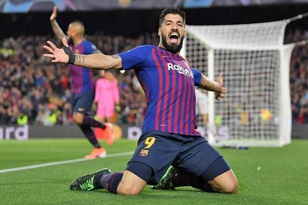 Luis Suarez sukses buka keunggulan manfaatkan umpan Jordi Alba