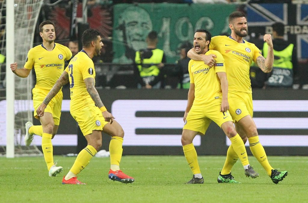 Chelsea akhiri laga dengan skor imbang 1-1
