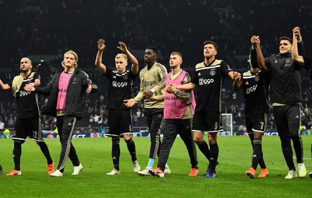 Kemenangan 0-1 di kandang Tottenham modal berharga bagi Ajax hadapi Leg II nanti