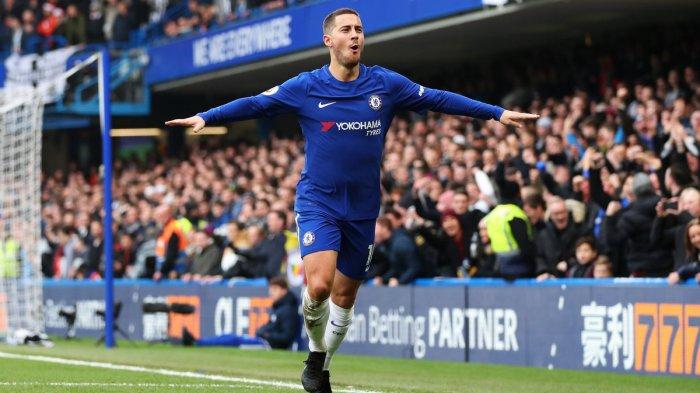 Eden Hazard Menjadi Pemain Terbaik Chelsea Musim Ini