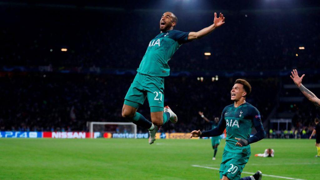 Momen kemenangan Spurs atas Ajax