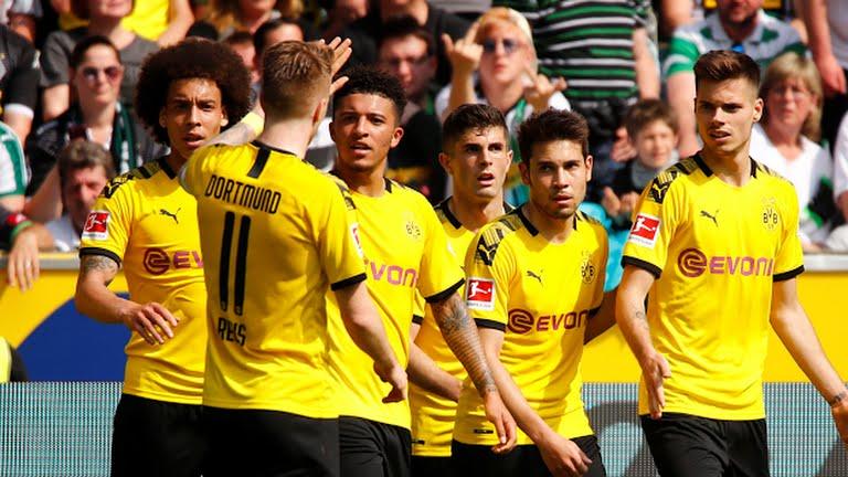 Dortmund menang 2-0 atas Monchengladbach