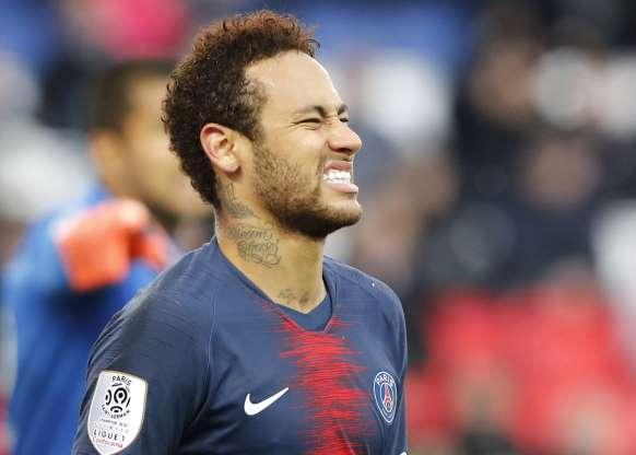 Neymar akan absen di tiga pertandingan PSG