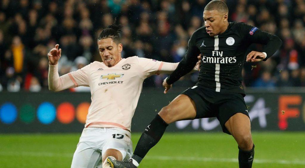 Musim ini langkah PSG di Liga Champions digagalkan oleh Manchester United