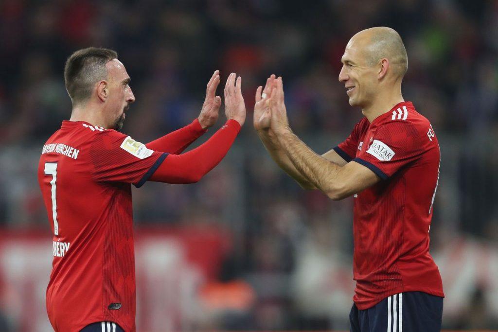 Franck Ribery dan Arjen Robben adalah salah satu duet winger paling berbahaya yang pernah warnai jagat sepakbola dunia