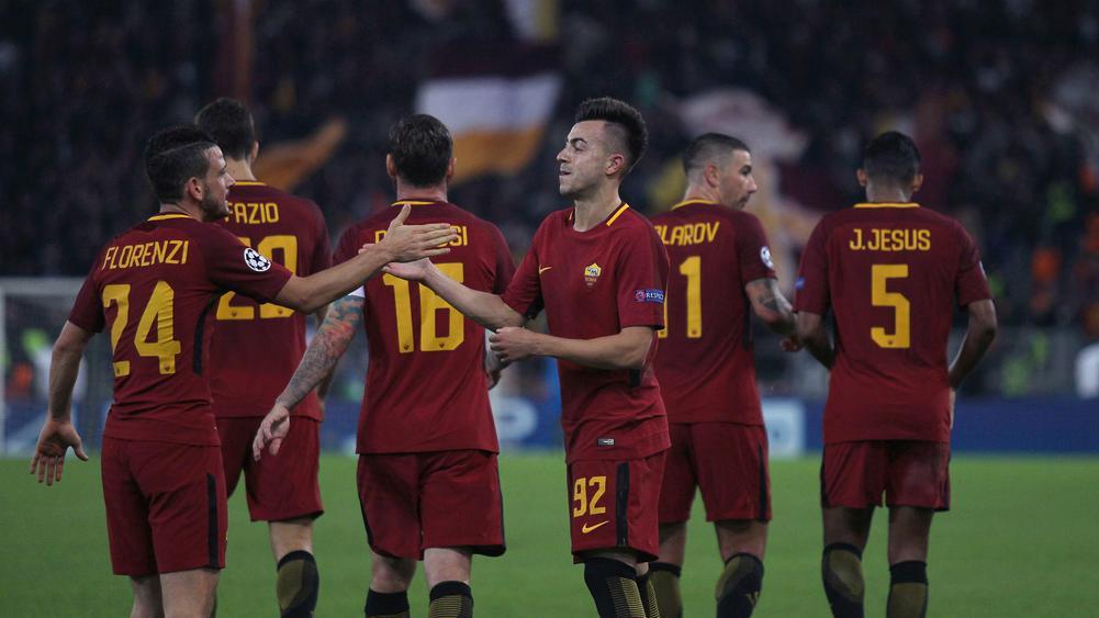 Skuad AS Roma di ujung tombak usai imbang menghadapi Genoa