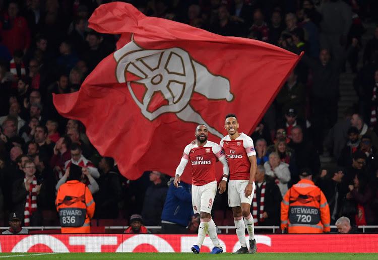 Pierre Aubameyang sukses bawa Arsenal unggul 3-1
