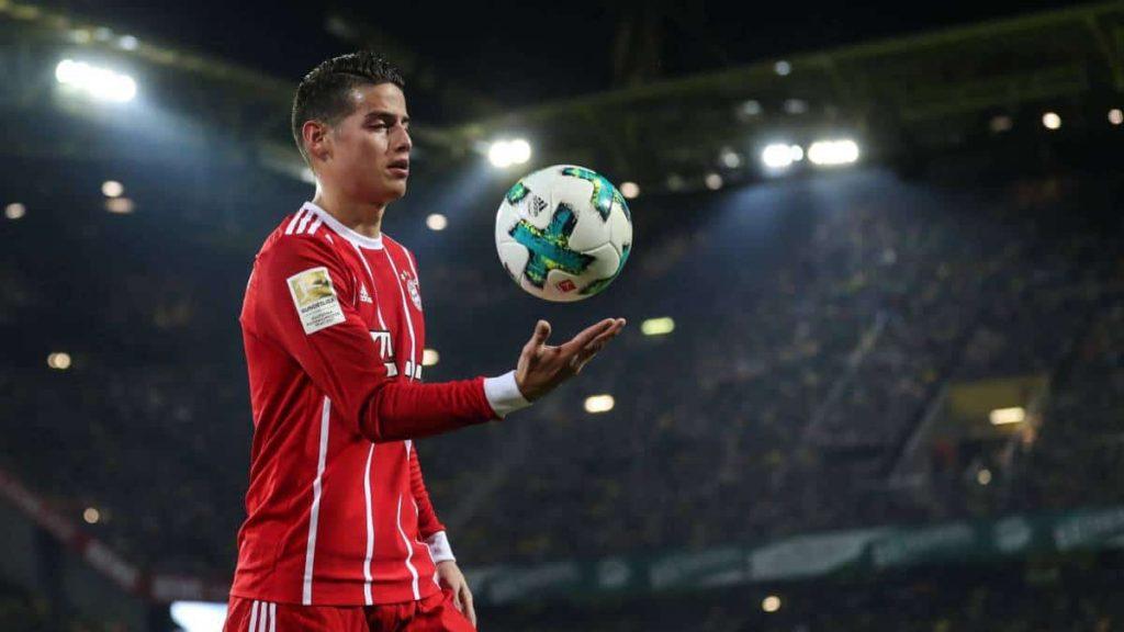 Tolak Kembali Ke Real Madrid, James Rodriguez Pilih Ke Napoli