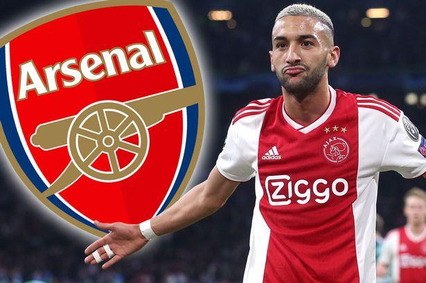 Hakim Ziyech Tertarik Gabung Arsenal