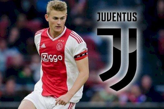 Juventus Disebut Telah Mencapai Kesepatakan Dengan Ajax Terkait Transfer De Ligt