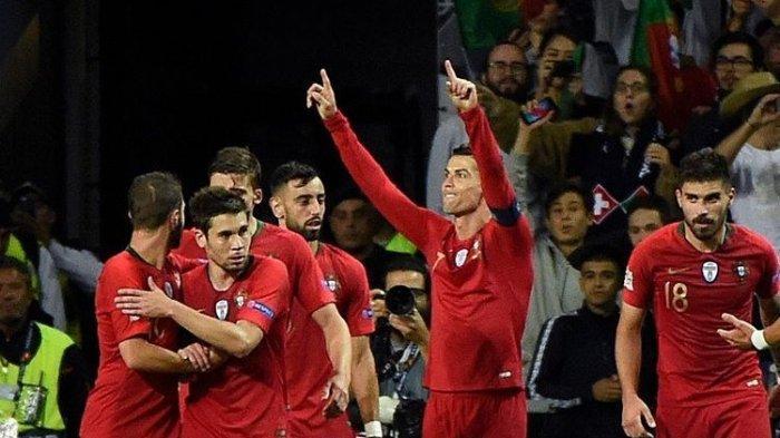 Portugal Sukses Tumbangkan Swiss di Semifinal UEFA Nations Cup