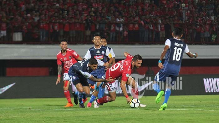 Prediksi Bali United vs Arema FC 24 Agustus 2019, Serdadu Tridatu Tidak Mau Kehilangan Poin Dikandang