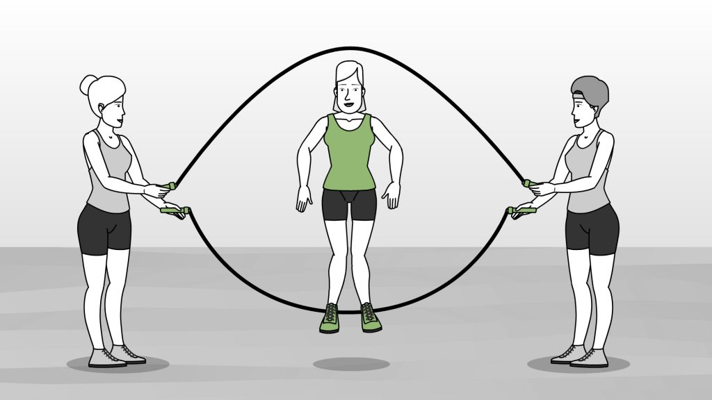 Inilah Cara Melakukan Lompat Tali Beregu Yang Benar Olahragapedia Com