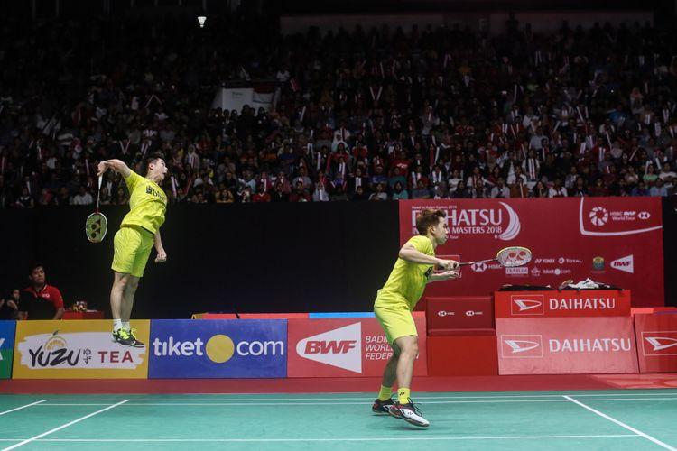 4 Peraturan Servis Badminton Ganda Putra Yang Wajib Diketahui Olahragapedia Com