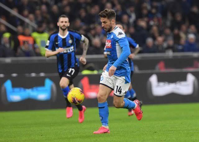 Inter Milan Kalah melawan Napoli